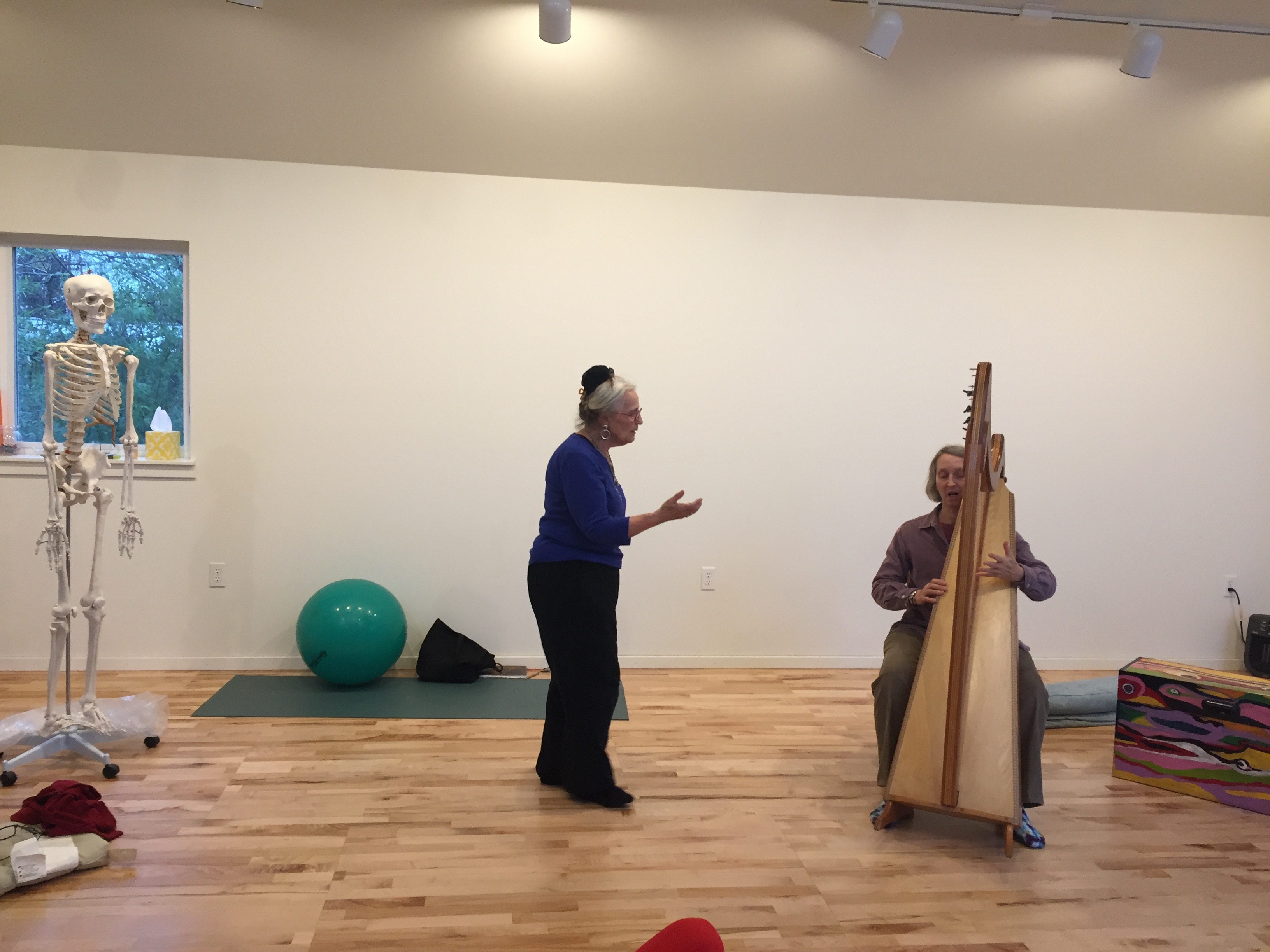 Body, Breath and Sound with Adriana Hardy